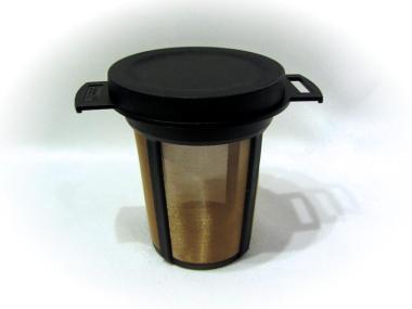 Tee Dauerfilter aus Kunststoff