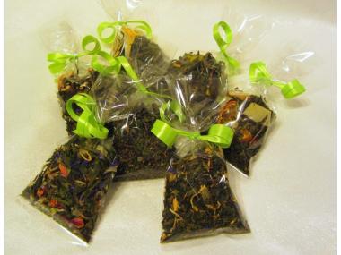 Probepaket aromatisierter Grüntee 7 verschiedene Sorten