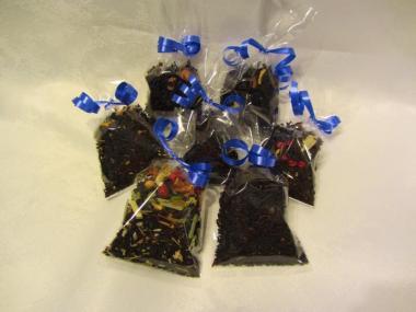 Probepaket aromatisierter Schwarztee 7 verschiedene Sorten