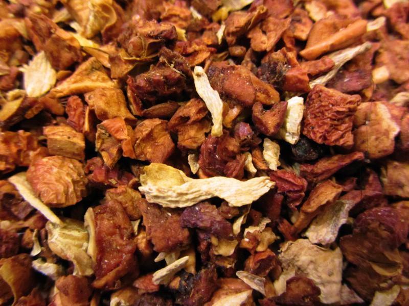 Persischer Apfel mit Ingwer - Tee