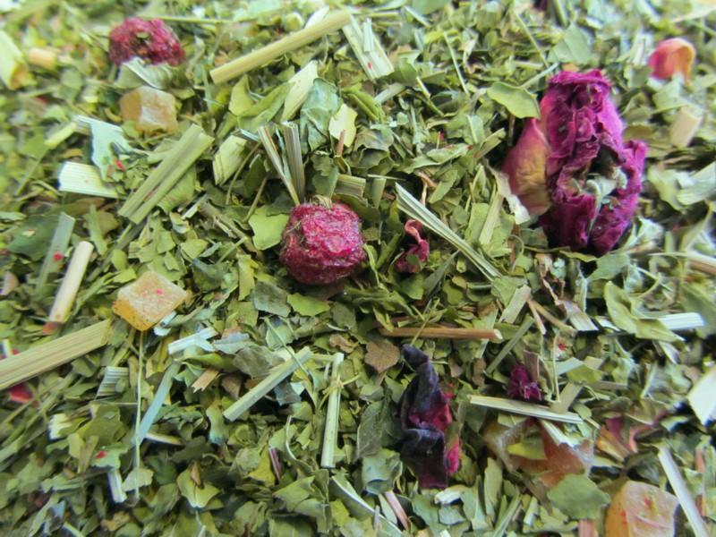 Granatappfel Johannisbeere mit Moringa