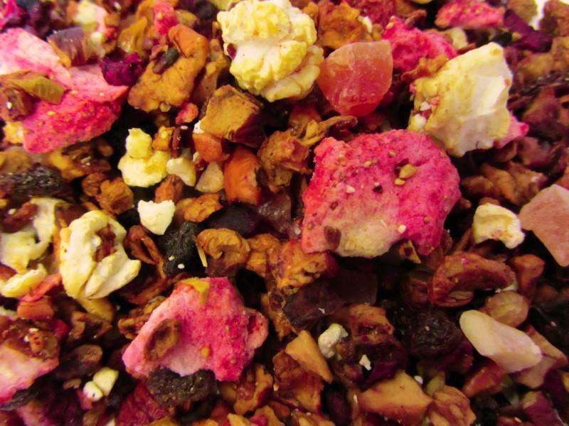 Erdbeer Popcorn
