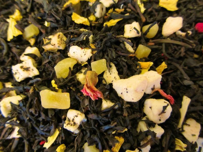 Granatapfel Mango Schwarzer Tee mild
