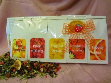 Probepaket Früchtetee 5x50g