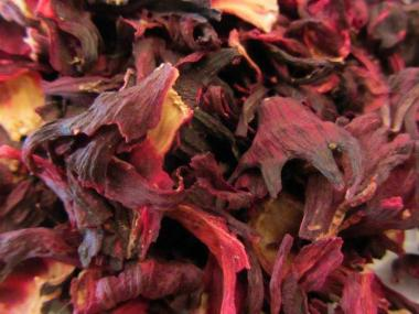 Hibiskus Tee Blüten Handverlesen
