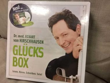 Glücksbox - Eckart von Hirschhausen - Tee - Hörbuch - Buch