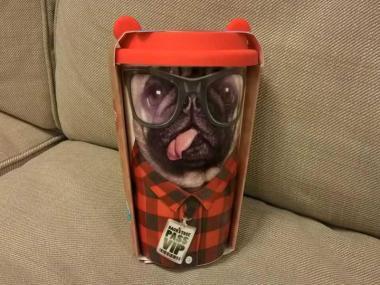 Thermobecher Hund - Keramik doppelwandig