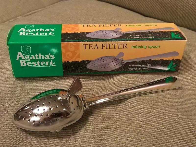 Tee Filter - Löffel Form