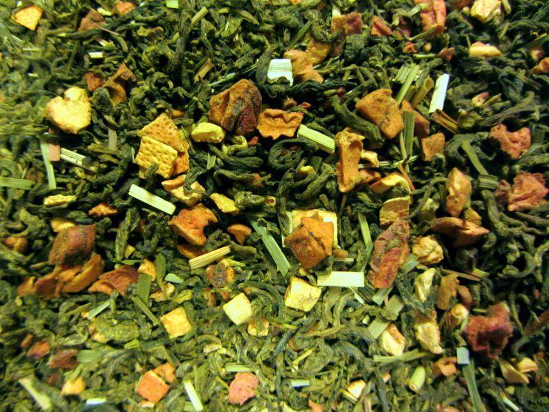 Matcha Zitrusfrucht Tee